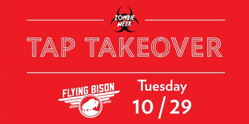 Zombie Tap Takeover - Flying Bison Brewing Company