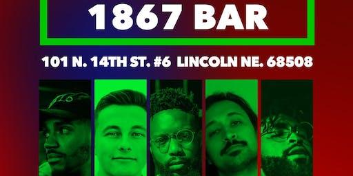 Cameron Moss // Landon Flux // M Shah // Neak // HAKIM Live @ 1867 Bar