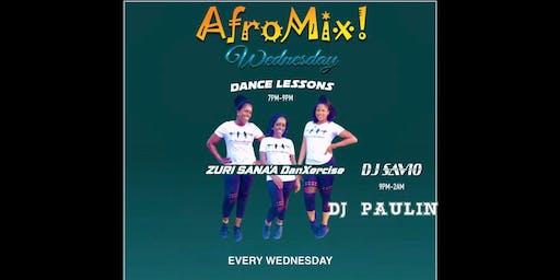 AfroMix Wednesdays f/Afrobeat & Ndombolo Dance Classes by Zuri Sana'a