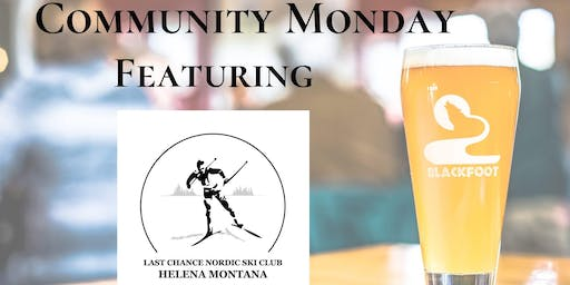 Community Monday with Last Chance Nordic Ski Club