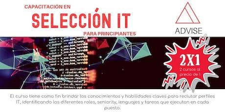 Curso: Selección IT y Marketing para reclutadores entradas