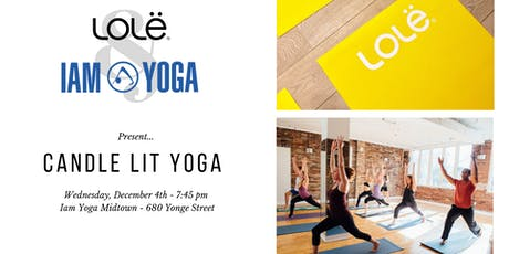 Iam Yoga X Lolë  - Candlelit Yoga Flow tickets