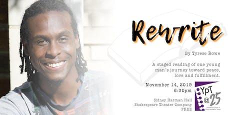 Rewrite at Shakespeare Theatre Company tickets