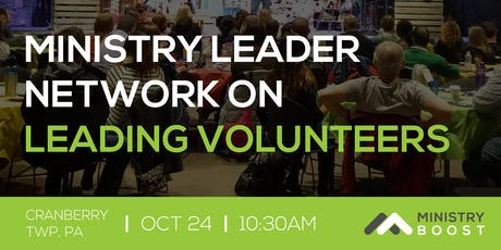 Ministry Leader Network: Leading Volunteers tickets