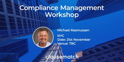 Compliance Management Workshop - NYC
