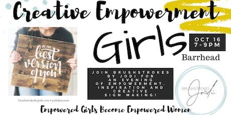 GIRLS NIGHT - Creative Empowerment Series(BARRHEAD) tickets