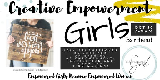 GIRLS NIGHT - Creative Empowerment Series(BARRHEAD)