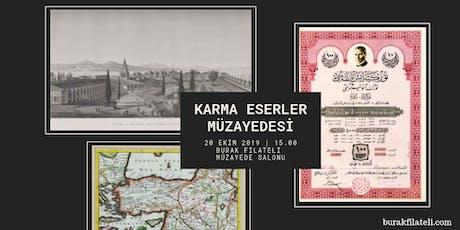 20 Ekim 2019 - Karma Eserler Müzayedesi | Ephemera Auction tickets