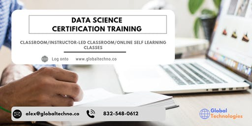 Data Science Classroom Training in Sainte-Anne-de-Beaupré, PE