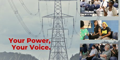 Your Power, Your Voice: MLGW community meeting tickets