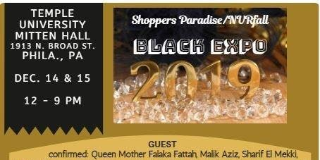 Shoppers Paradise and NVR Black Expo 2019