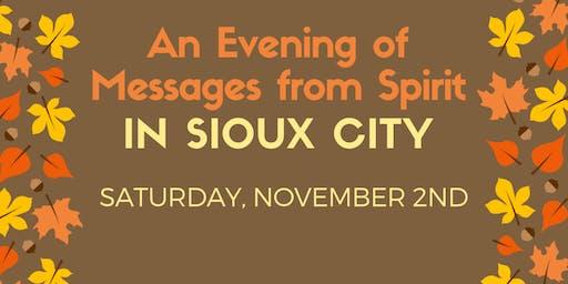 An Evening of Messages From Spirit
