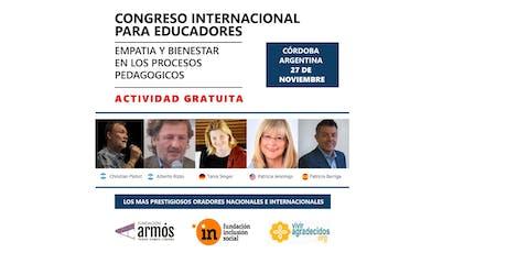 Congreso Internacional para Educadores entradas