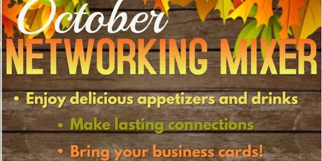 October Networking Mixer tickets
