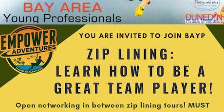 BAYP Zip Lining at Empower Adventures Tampa Bay tickets