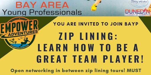 BAYP Zip Lining at Empower Adventures Tampa Bay