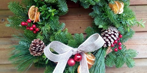 Festive Wreath Making Workshop 1