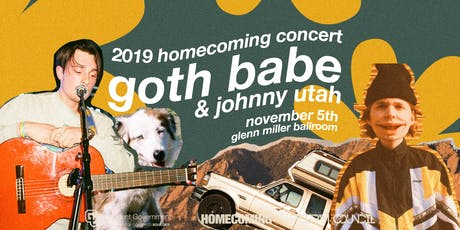 CU  Boulder Homecoming Concert w/ Goth Babe & Johnny Utah tickets