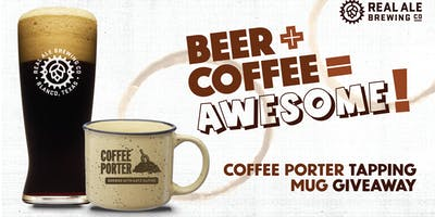 Real Ale Coffee Porter Release