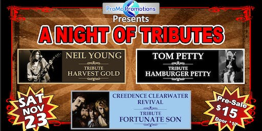 A Night of Tributes-Neil Young/Tom Petty/CCR