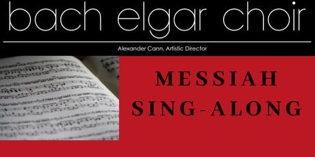 Messiah Sing-along tickets