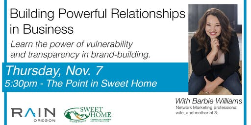 PUB TALK: Building Powerful Relationships in Business