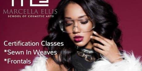 Hair Weaving 4 WEEK Certification Program tickets
