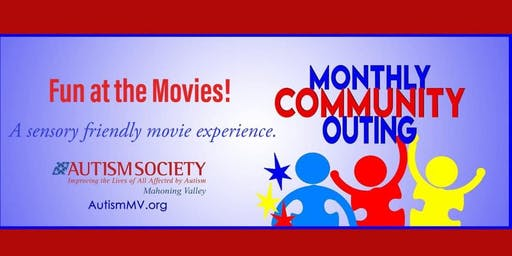 Fun at the Movies with Autism Society of Mahoning Valley & SensoPlay!