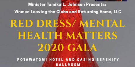 Women Leaving the Clubs and Returning Home,LLC Red Dress/Mental Health Matters tickets