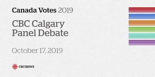 CBC Calgary's Federal Election Panel Debate