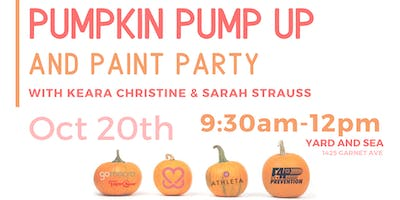 Pumpkin Pump Up and Paint Party