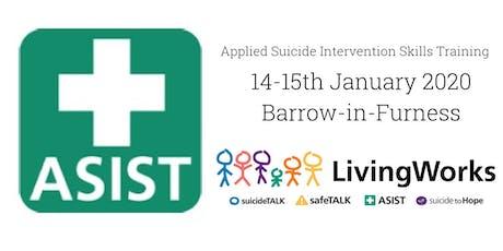 Barrow ASIST (Applied Suicide Intervention Skills Training) tickets
