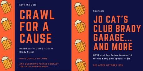 Crawl for a Cause tickets
