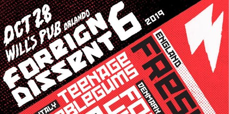 Foreign Dissent 6 w/ Fresh (London), Teenage Bubblegums (Italy), & more! tickets