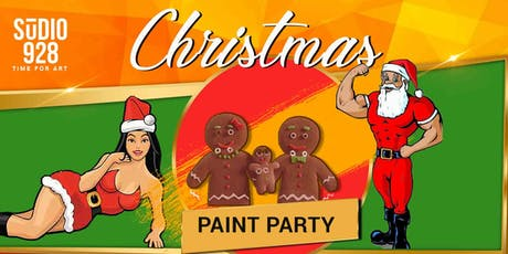 Christmas Paint Party tickets