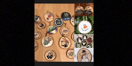 Hand Painted Wood Ornaments tickets