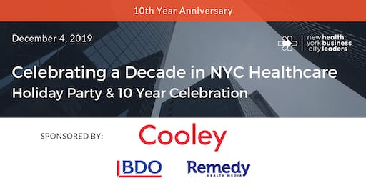 Celebrating a Decade in NYC Healthcare: Holiday Party & 10 Year Celebration