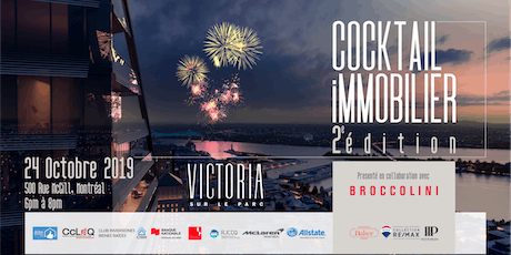 Cocktail immobilier 2e édition tickets