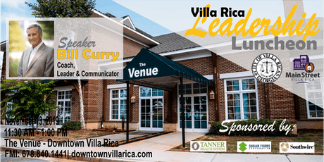 Villa Rica Leadership Luncheon Series | November 13, 2019 tickets