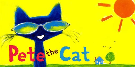 Pete the Cat Is Coming to the Library!