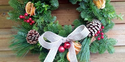 Festive Wreath Making Workshop 2