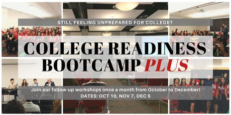 College Readiness Bootcamp PLUS (CRB+) - November tickets