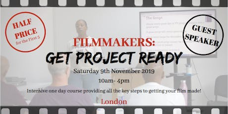 Intensive One Day Filmmaking Course tickets