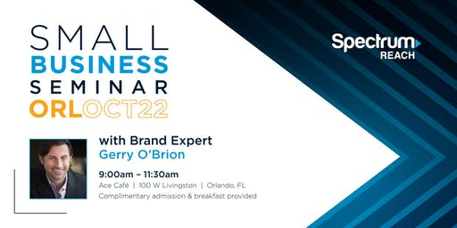 Small Business Breakfast Seminar featuring Gerry O'Brion