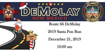 2019 Route 66 DeMolay Santa Fun Run