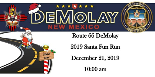 2019 Route 66 DeMolay Santa Fun Run