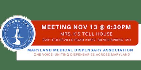 Maryland Medical Dispensary Association MEMBERSHIP MEETING tickets