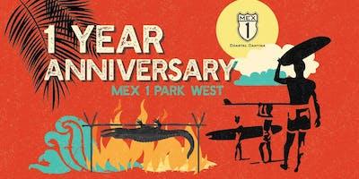 Mex 1 Anniversary and Gator Roast!