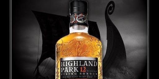Highland Park et Tapas avec Cameron Millar