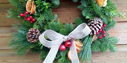 Festive Wreath Making Workshop 3